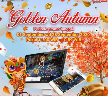 Event GOLDEN AUTUMN di Lobby Casino Oriental Game