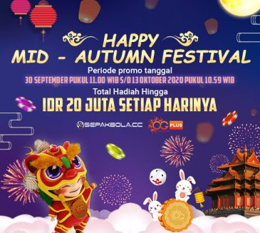Happy Mid Autumn Festival di Lobby Casino Oriental Game