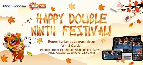 Happy Double Ninth Festival Bersama Casino Oriental Game