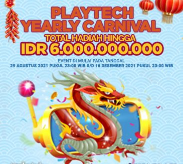 Promotion Yearly Carnival Playtech