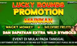 Promo Lucky Rounds di Lobby Spinomenal